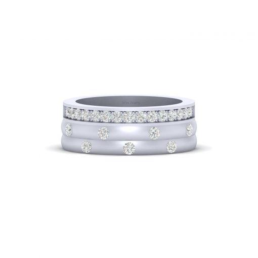 CLASSIC DIAMOND WEDDING BAND